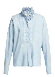 Isabel Marant Étoile Mora broderie-anglaise cotton blouse