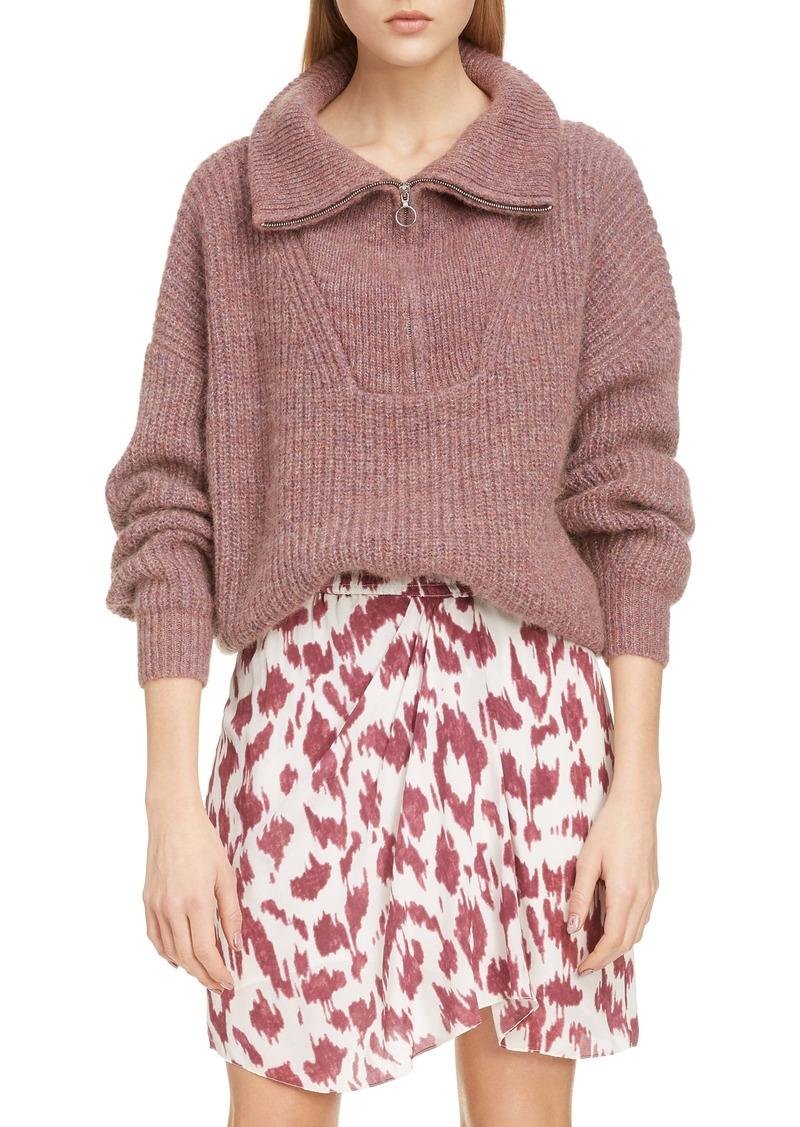 Isabel Marant Étoile Myclan Quarter Zip Sweater