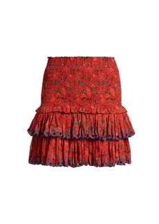Isabel Marant Étoile Naomi floral-print mini skirt