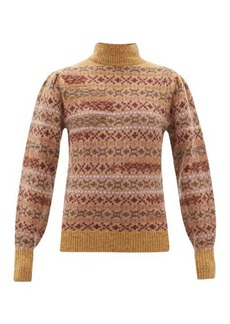 Isabel Marant Étoile Ned Fair Isle-knitted wool sweater