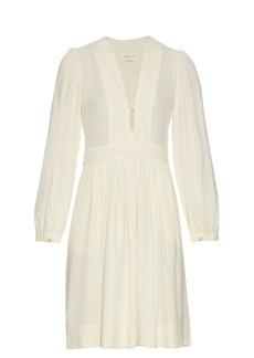 Isabel Marant Étoile Neil V-neck crepe dress