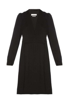 Isabel Marant Étoile Neil V-neck crepe dress
