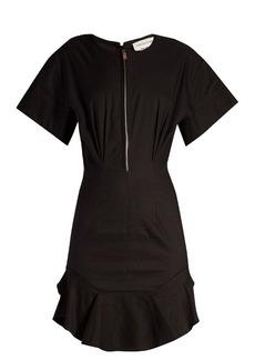 Isabel Marant Étoile Neit zip-front ruffled-hem dress