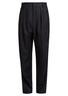 Isabel Marant Étoile Nimura wide-leg checked wool trousers