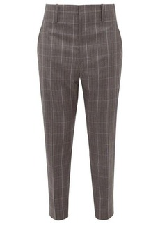 Isabel Marant Étoile Noah checked trousers