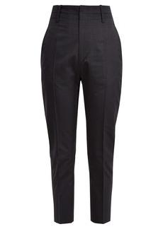 Isabel Marant Étoile Noah cropped cotton-blend trousers