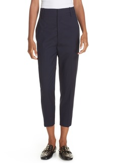 Isabel Marant Étoile Noah Tapered Wool Crop Pants