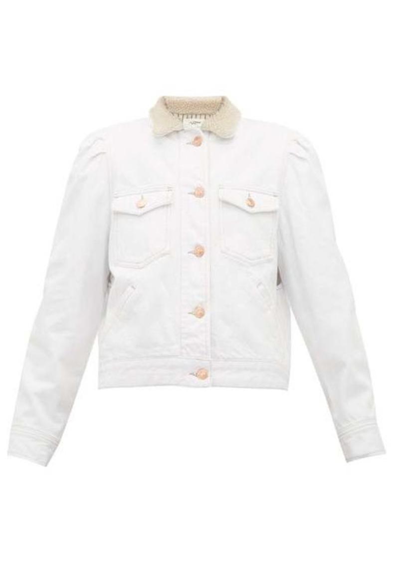 Isabel Marant Étoile Nolinea faux-shearling denim jacket