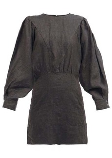 Isabel Marant Étoile Nuevo panelled linen mini dress