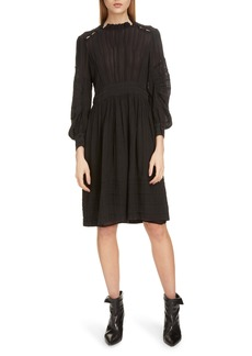 Isabel Marant Étoile Odea Pintuck Dress