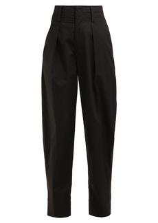 Isabel Marant Étoile Odrys high-rise cotton trousers