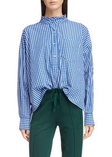 Isabel Marant Étoile Olena Ruffle Neck Shirt