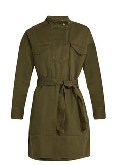 Isabel Marant Étoile Omeo cotton-gabardine tunic dress