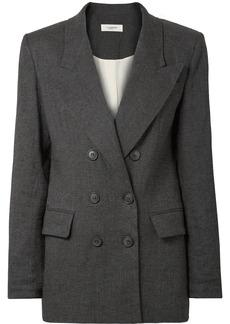 Orka linen-blend blazer