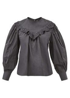Isabel Marant Étoile Ounissa cotton-poplin blouse