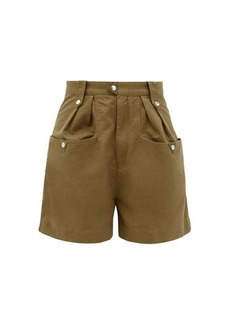 Isabel Marant Étoile Palino high-rise cotton shorts