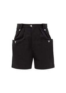 Isabel Marant Étoile Palino high-waisted cotton shorts