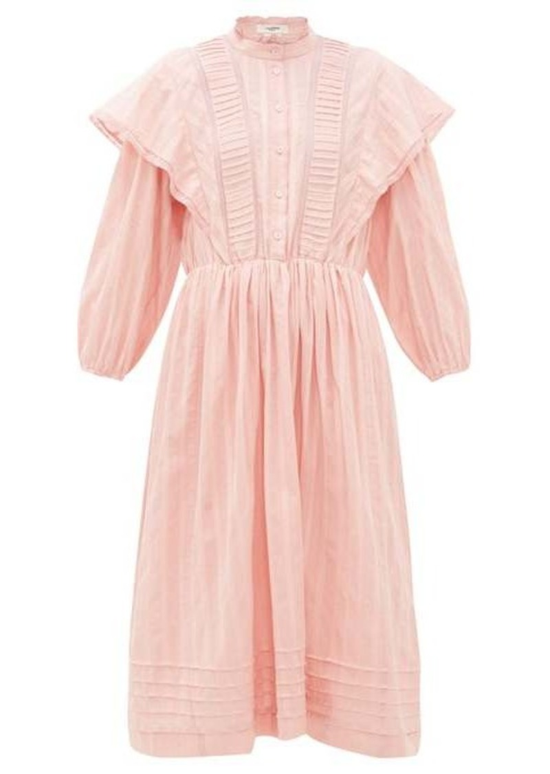 Isabel Marant Étoile Paolina striped cotton midi dress