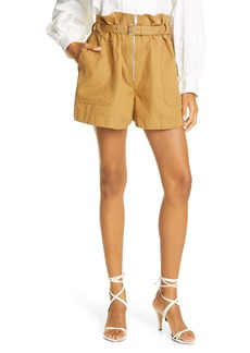 Isabel Marant Étoile Parana Cotton & Linen Shorts