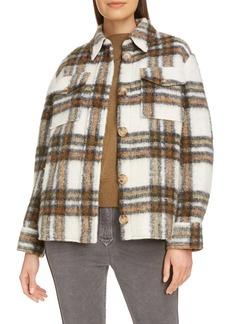 Isabel Marant Étoile Plaid Shirt Jacket
