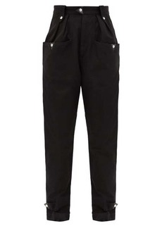 Isabel Marant Étoile Pulcie tapered cotton trousers