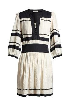 Isabel Marant Étoile Ramsey V-neck gauze dress