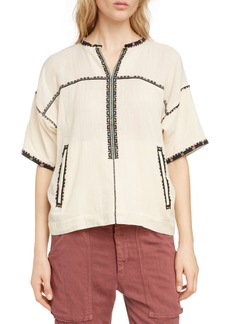 Isabel Marant Étoile Rikki Embroidered Top