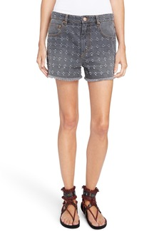 Isabel Marant Étoile Ripped Denim Shorts
