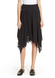Isabel Marant Étoile Rodney Handkerchief Hem Skirt