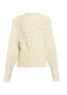 Isabel Marant Étoile Ryder wool cable-knit sweater