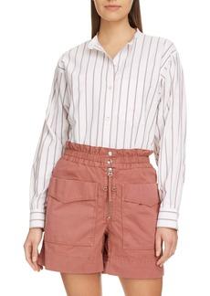 Isabel Marant Étoile Satchell Stripe Shirt