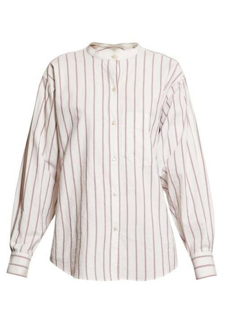 Isabel Marant Étoile Satchell striped-cotton shirt