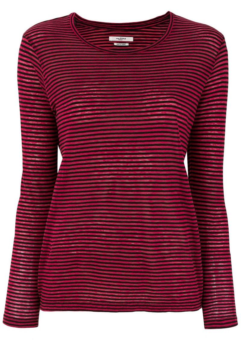 Isabel Marant striped long sleeve T-shirt