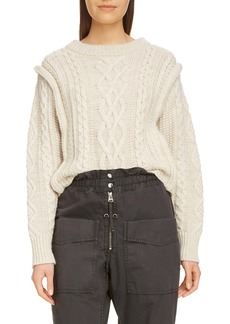 Isabel Marant Étoile Tayle Cable Knit Sweater