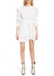 Isabel Marant Étoile Telicia Ruffle Linen Dress