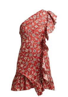 Isabel Marant Étoile Teller floral-print ruffled linen dress