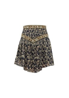 Isabel Marant Étoile Valerie floral-print cotton mini skirt