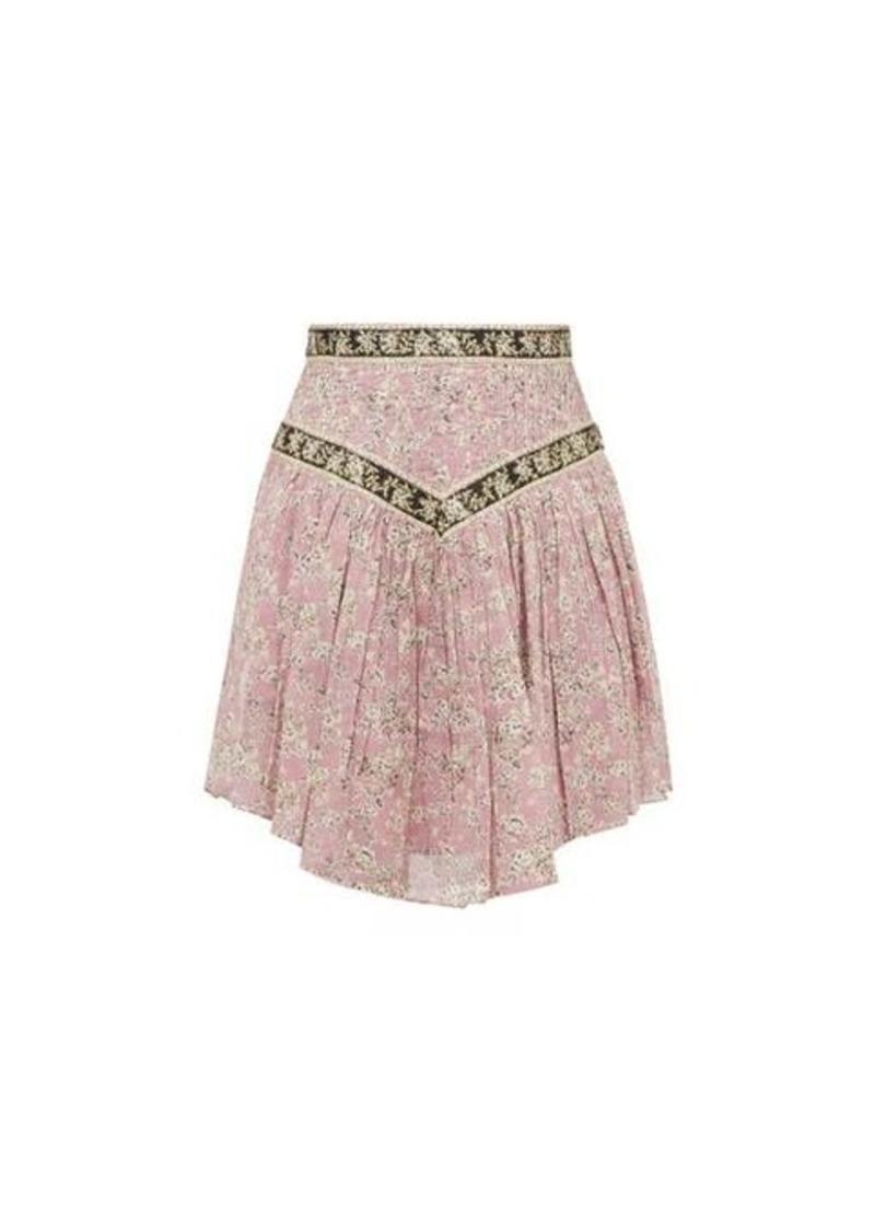 Isabel Marant Étoile Valerie floral-print cotton skirt