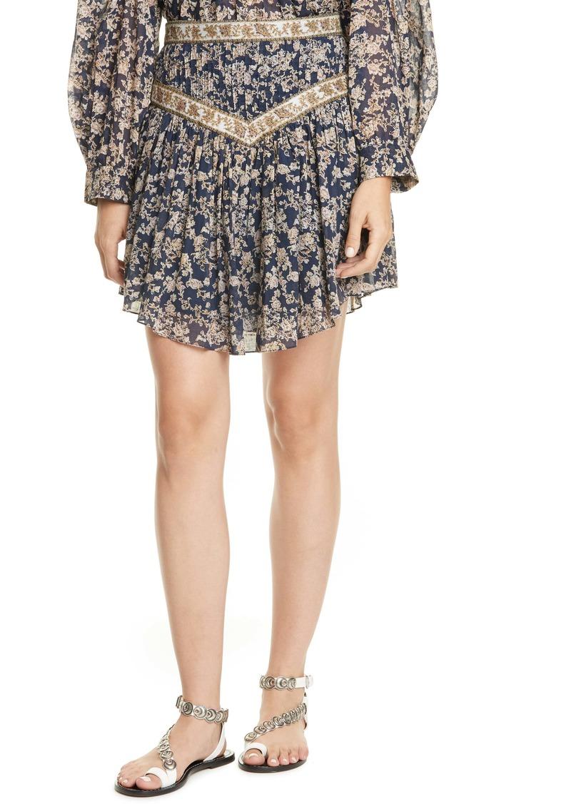 Isabel Marant Étoile Valerie Pleated Miniskirt