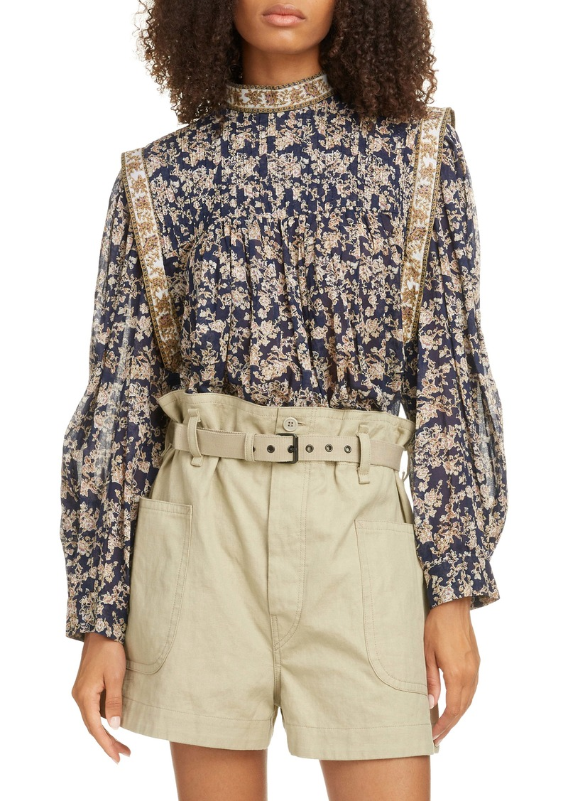 Isabel Marant Étoile Vega Pleated Shirt