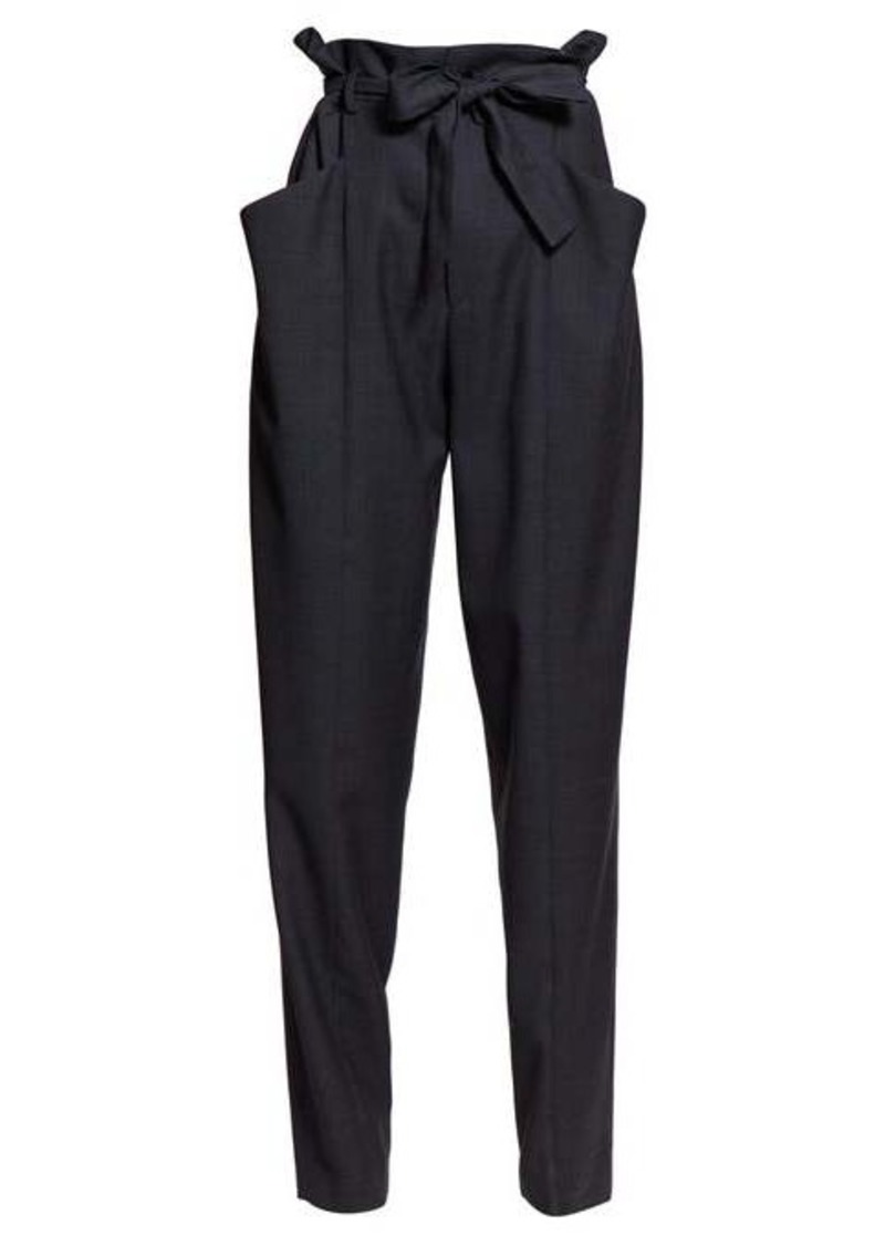 Isabel Marant Étoile Vittoria paperbag-waist tailored trousers