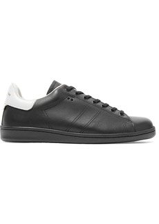 Isabel Marant Étoile Woman Bart Two-tone Leather Sneakers Black