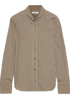 Isabel Marant Étoile Woman Owell Checked Cotton-poplin Shirt Light Brown