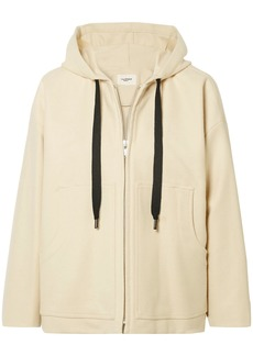 Isabel Marant Étoile Woman Chelsea Brushed Wool-blend Hooded Jacket Ecru