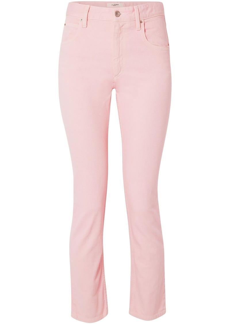 Isabel Marant Étoile Woman Fliff Boyfriend Jeans Pastel Pink