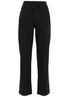 Isabel Marant Étoile Woman Dobbs Embroidered Jersey Track Pants Black