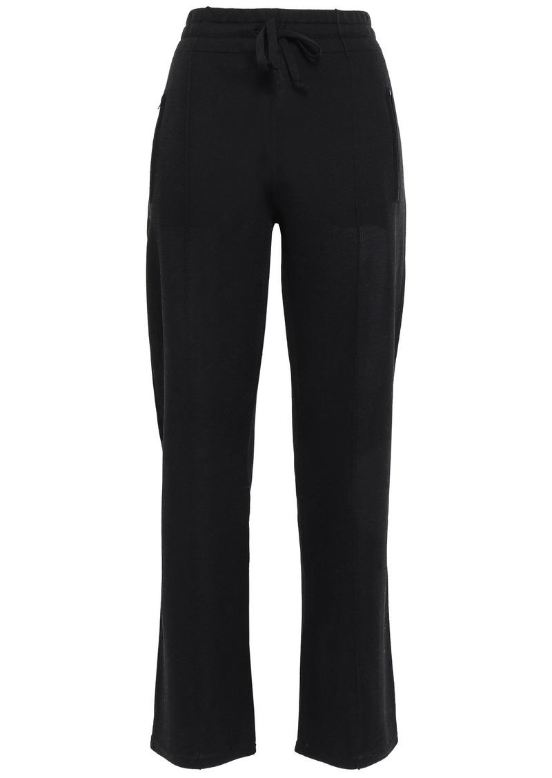 Isabel Marant Étoile Woman Jersey Straight-leg Pants Black