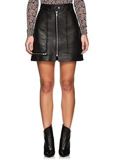 Isabel Marant Étoile Women's Alynna Leather Miniskirt