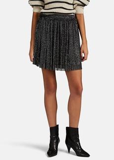 Isabel Marant Étoile Women's Benedicte Metallic Mesh Miniskirt