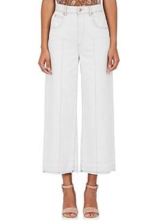 Isabel Marant Étoile Women's Cabrio Wide-Leg Crop Jeans